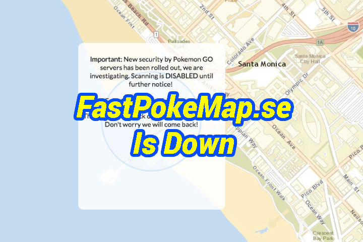 Pokémon Go Update Kills FastPokeMap And Every Other Map Scanner